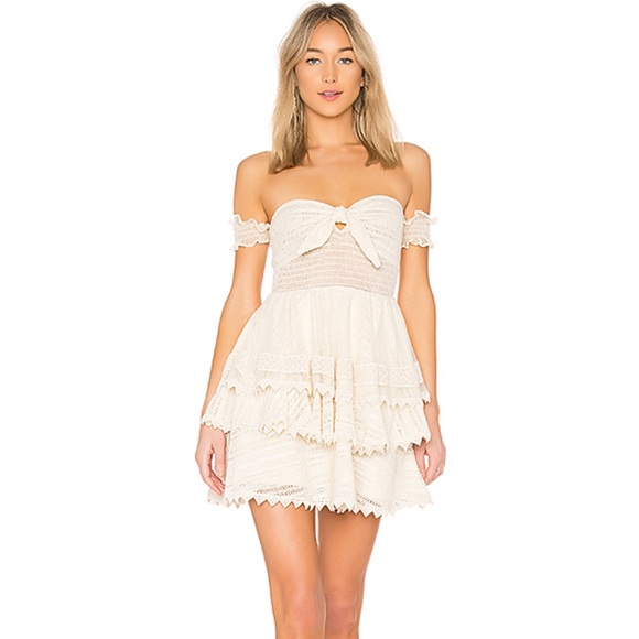 x REVOLVE Gaines Dress in Natural